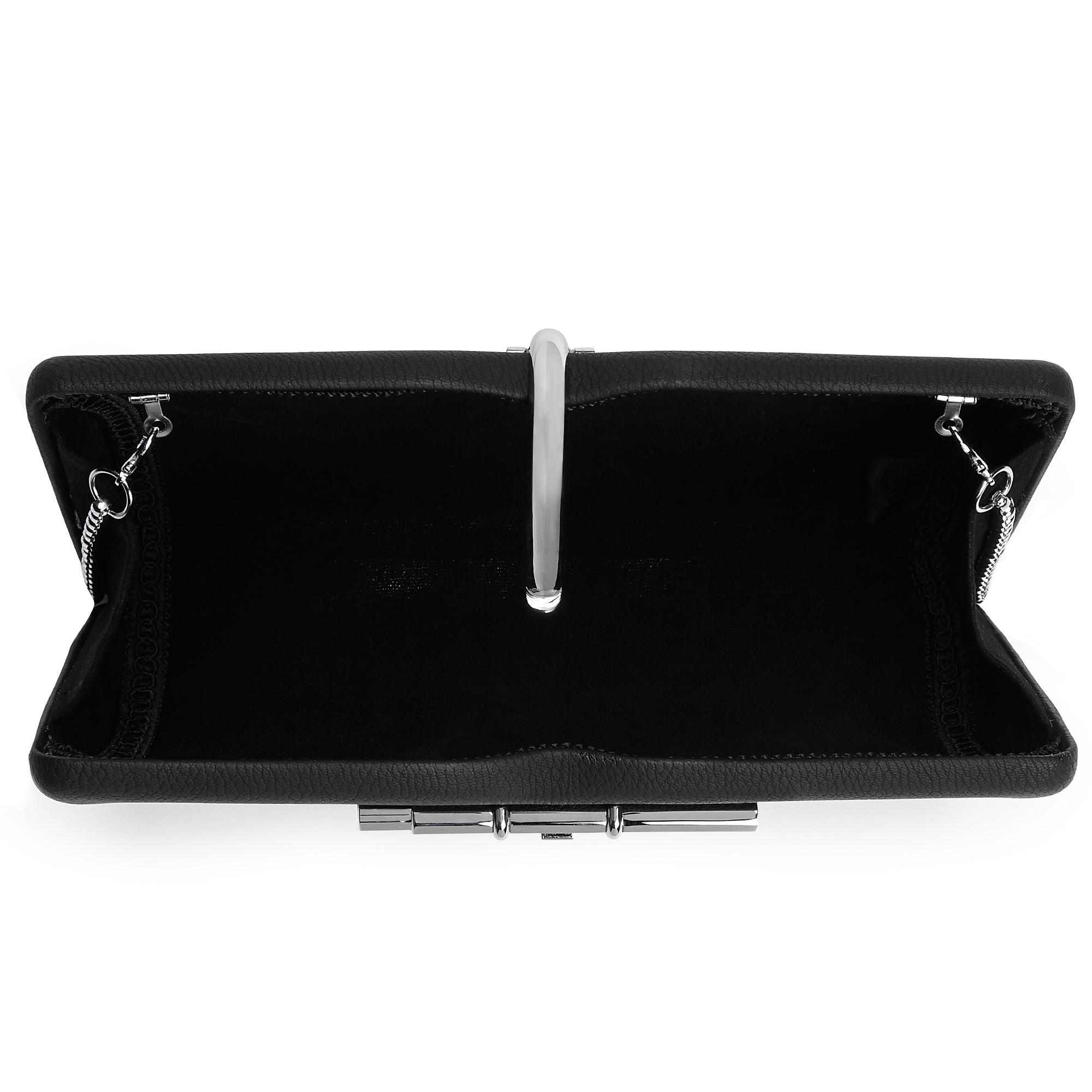 ddffe4e09 Allegro Vegan Black Clutch Bag – Alwayschic
